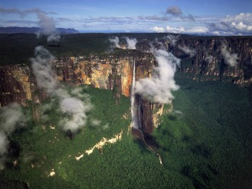 venezuela angel-falls-breathtaking-View